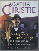 The Mystery of Hunter's Lodge Agatha Christie 2 Cassette Audio Book Poirot