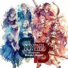 [CD] OCTOPATH TRAVELER Arrangements  Break & Boost NEW from Japan
