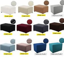 Ottoman Footrest Stool Footstool Chair Cover Rest Sofa 1/2/3 Seat Couch for Home