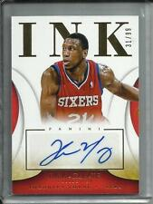 Thaddeus Young 13/14 Immaculate Collection Autograph #31/99
