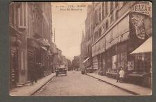 post card France Riom Rue St Amable/ edition Olliergues people cars shops Bazar