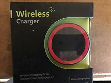 iPhone 8 Wireless Charger Charging Power Pad Black and Red