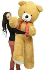 Big Plush 6 Foot Giant Brown Teddy Bear Soft 72 Inch Life Sized Stuffed Animal
