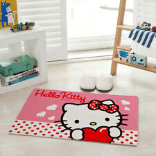 2018 Hello Kitty Non-slip Kitchen Bathroom Floor Skidproof Door Mat Plush Rugs
