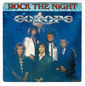 "Europe Vinile 45 Giri RPM 7 "" Rock The Night - Seven Doors Hotel Hard Epic"