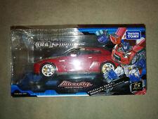 Transformers Alternity a01 Nissan GT-R Optimus Prime vibrant red convoy Takara *