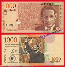 COLOMBIA 1000 Pesos 19.8.2015 Pick New 456 SC / UNC