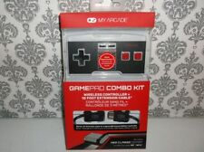 My Arcade GamePad Combo Kit - Wireless Controller + 10 Foot Extension Cable