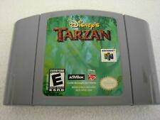 Disney's Tarzan (Nintendo 64, 2000) N64 Authentic Tested Working