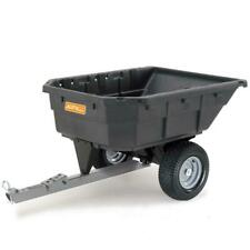 Dump Cart Lawn Mower Tractor ATV Trailer Garden Yard Tow Behind 1000LB Large NEW