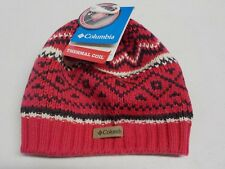 b82df60ff4c Columbia White Pine Unisex Beanie Thermal Coil Hat Red