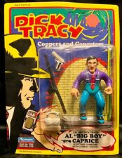 "1990 Playmates Dick Tracy Al ""Big Boy"" Caprice Figure 5"" In Package"