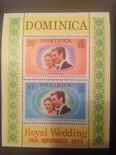 DOMINICA 1973 ROYAL WEDDING - MNH