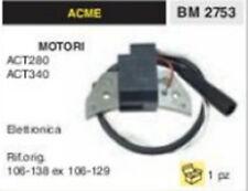BOBINA ELETTRONICA MOTOCOLTIVATORE MOTORE ACME ACT280 ACT 340 ACT340 ACT 280