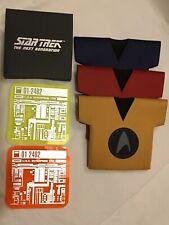 STAR TREK Set Of Three Bottle Sleeves & Two Drinks Coasters