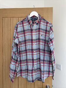 Mens Ralph Lauren Linen Shirt