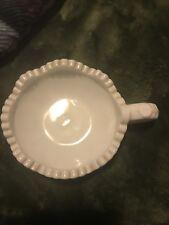 Vintage Milk Glass Trinket Holder