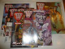 2000 AD Comic - 5 PROG JOB LOT - Progs 735 - 739 Inclusive - 1991 UK Paper Comic
