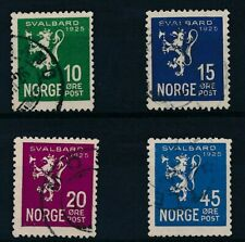 [34279] Norway 1925 Good set Very Fine used stamps