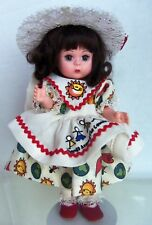 Madame Alexander Madc Friends Around The Country Dress on doll, w/ Stand,no box
