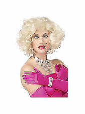Marilyn Monroe Blonde Bombshell 50s Wig Costume Accessory One Size