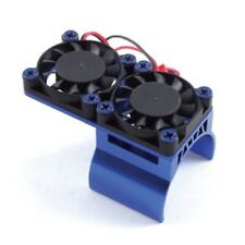 - 36-1 Fastrax FAST R/C-Blu in alluminio doppia ventola dissipatore di calore unità a motore