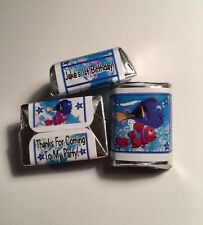 30 Finding Dory Birthday Party Or Baby Shower Hershey Nugget Stickers Nemo