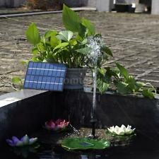 9V 1.8W Outdoor Garden Solar Powered Submersible Water Pump Fountain Pond