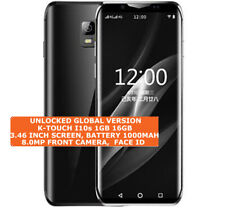 K-TOUCH I10s 16gb Quad Core 5.0mp Camera Face Id 3.46 inch Android Smartphone