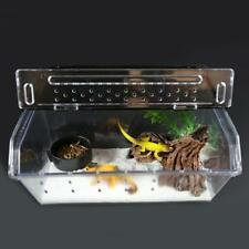 Reptile Cage Breeding Box Frog Gecko Beetle Insect Lizard Snake Frog Scorpion Us