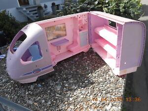großer Barbie Zug ca. 60cm lang!! Fa, Mattel