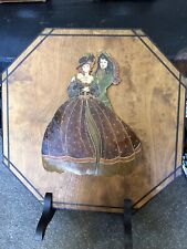 Vintage Firescreen Mary Cruickshank Gallantry