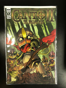 CANTO II Hollow Men 1 NM 1A Main first 1st print IDW 2020