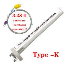 Us New High Temperature Type K Thermocouple Core Ceramic Kiln Probe 2372f