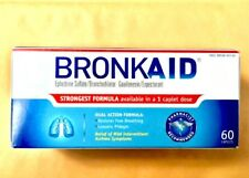 BRONKAID 60 FROM THE ORIGINAL!! ALWAYS IN STOCK & SHIPS ON THE SAME DAY EXP:8/19