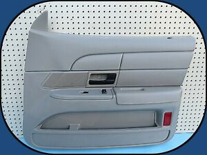 03-11 Ford Crown Victoria Right Front RF Interior Trim Door Panel Stone Police