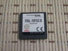 Final Fantasy III für Nintendo DS, DS Lite, DSi XL, 3DS ohne OVP