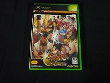 Street Fighter Anniversary Collection (Microsoft Xbox, 2005) Japanese Import