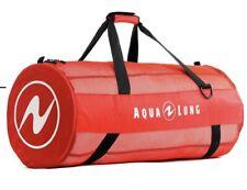 New listing Aqua Lung Adventurer Mesh Duffel Bag RED