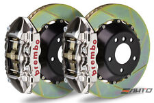 Brembo Rear GT Brake 4Pot Caliper GT-R 345x28 Slot Rotor BMW F30 328i M Sport