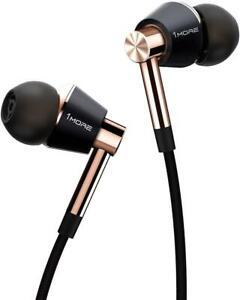 1MORE Triple Driver In-Ear Hi-Res Earphones Headphones - Gold
