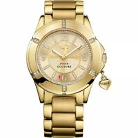 **REDUCED** Juicy Couture 1901200 Ladies' Rich Girl Gold Charm Bracelet Watch