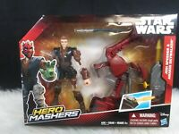 Hasbro Star Wars Hero Mashers Jedi Speeder & Anakin Skywalker