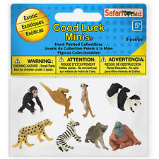 Exotic Fun Pack Mini Good Luck Figures Safari Ltd NEW Educational Toys Kids