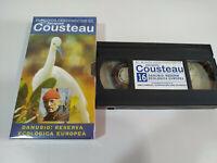 Jacques Cousteau - Danubio Reserva Ecologica Europea - VHS Tape Cinta Español