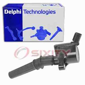 Delphi Ignition Coil for 1998-2011 Ford Crown Victoria 4.6L V8 Wire Boot pg