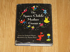 The Space Child's Mother Goose Frederick Winsor Illus. Marian Perry HCDJ 1st Ed