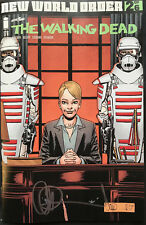IMAGE COMICS THE WALKING DEAD #176 NEW WORLD ORDER PT.2 SIGNED BY CHARLIE ADLARD