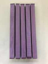 Purple Heart | Amaranth | Drechselholz | Tonholz | Tonewood | 500 x 40 x 40 mm