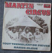 Martin Circus, tout tremblement de fievre / barbe bleue, SP - 45 tours